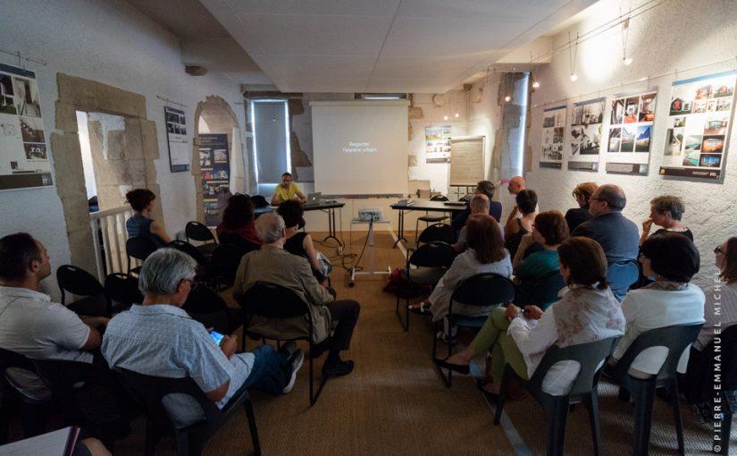 Conférence et présentations : Regarder l'espace urbain