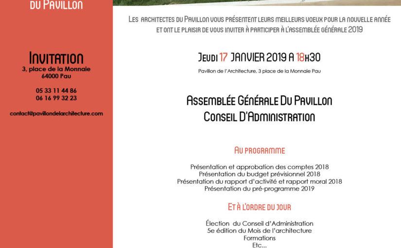 Invitation / ASSEMBLÉE GÉNÉRALE 2019