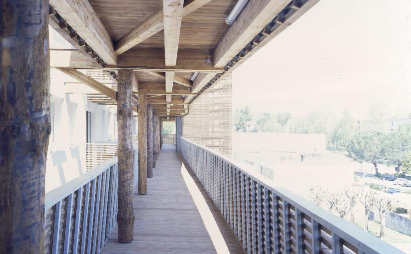 réhabilitation / extension en bois
