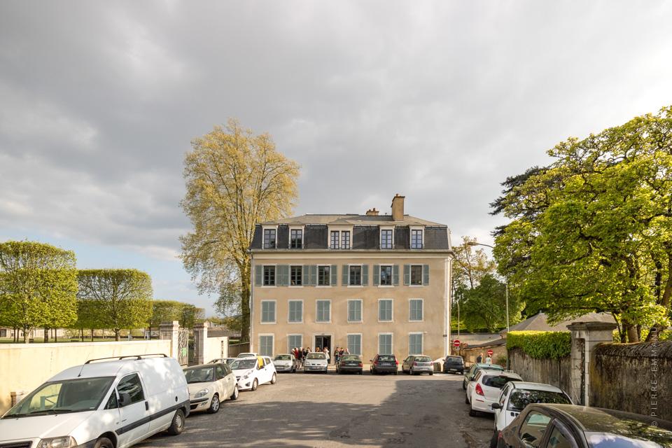 Visite de la maison baylaucq le pavillon de l 39 architecture for Exposition d une maison