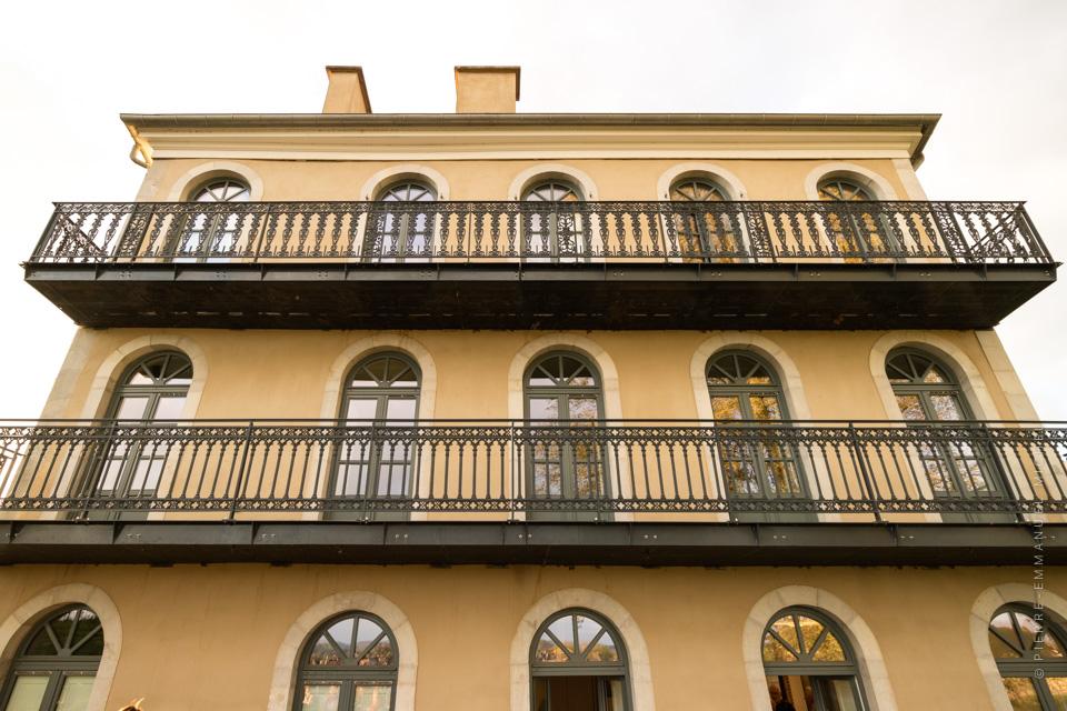 visite de la maison baylaucq le pavillon de l 39 architecture. Black Bedroom Furniture Sets. Home Design Ideas