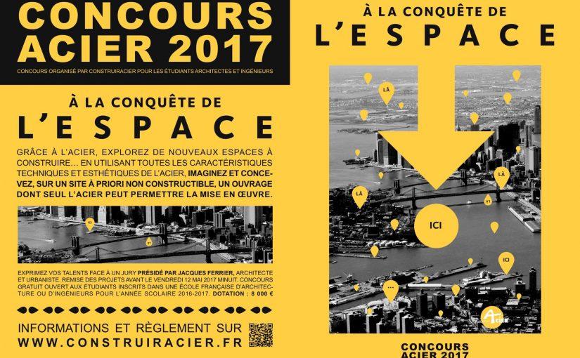 Exposition / Conférence – retour sur le concours étudiant Construire Acier 2017