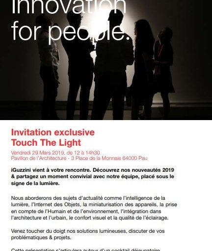 iGuzzini : Touch The Light